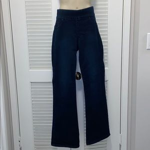 Boot Cut Pull on Jeans